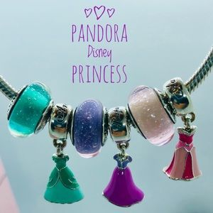 Pandora Disney Princess Dress & Murano Set